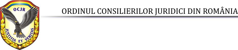 OCJR - Ordinul Consilierilor din România